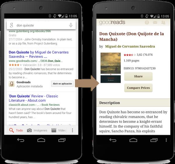 GoogleによるApp Indexing: アンドロイド携帯でアプリの発見をより効率的に。