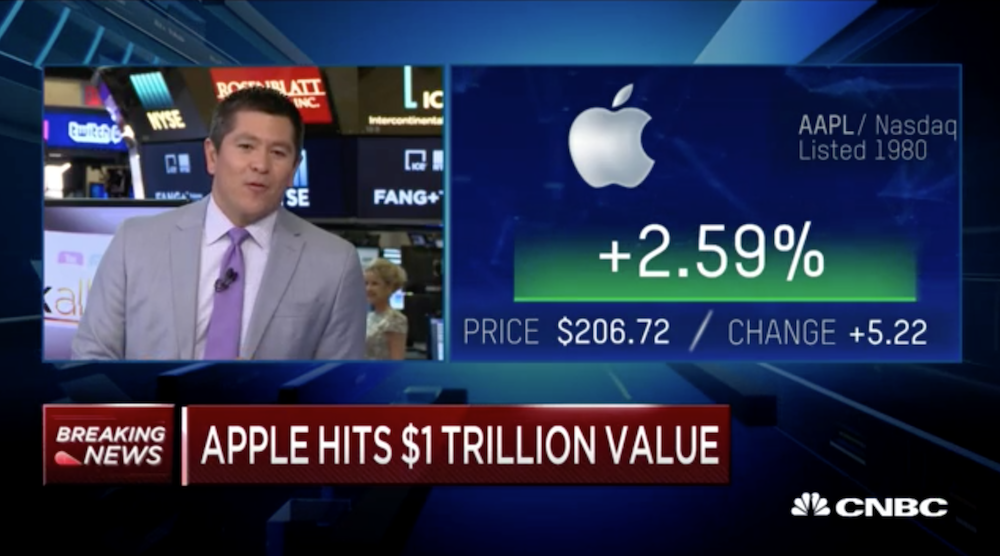 2018年8月第1週のニュースをスピード解説!Apple時価総額& Sonos IPO& Cisco買収!